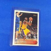 Used 1996 1997 Tops Nba Kobe Bryant Rc 138 Basketball Trading Cards With Case