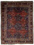 Handmade Antique Oriental Rug 6and039 X 6.4and039 156cm X 194cm 1900s - 1c595