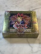 Yugioh Rise Of Destiny 1st Edition Factory Sealed Booster Box - Hobby Box
