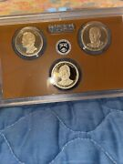 2016 S Presidential Dollar 3 Coin Set Choice Proof 1 Us Collectible