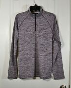 Nwt Menand039s Calvin Klein Spiced Currant Move 365 Pullover Jacket 1/4 Zip Sz S-l