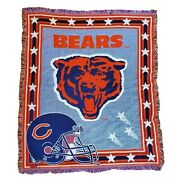 Chicago Bears Tapestry Throw Blanket The Northwest Company