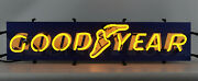 Goodyear Tire And Rubber Company Neon Sign - Tires - Auto Service - Blimp