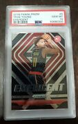 2018 Prizm Trae Young Emergent 5 Rookie Hawks Psa 10 Rc