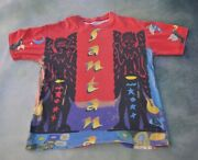 Vintage Rare Santana Men's All Over Print Men's T-shirt__please See Pic For Size