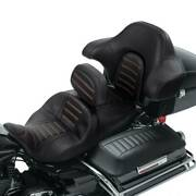 One Piece Driver And Passenger Seat Backrest Fit For Harley Touring Road King 14+