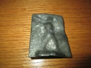 Vintage Metal Mold For Making Lead Toy Soldier Figurine Drgm - No 781892