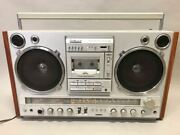 Used National Radio Cassette Player Large Rx-7000 Ambience Junk Products O