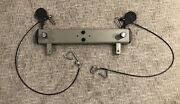 Original Bowflex Ultimate Adjustable Chest Rail Bar W/ Hooks Pulleys And Cables
