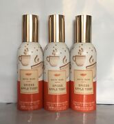 New Lot Of 3 Bath And Body Works Spiced Apple Toddy Concentrated Room Spray 1.5 Oz