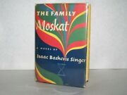 The Family Moskat Singer Isaac Bashevis 1st Edition 1st Printing Signed H/c