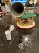 Kiddyphone Tin Lithographed Toy Gramophone Phonograph Made In Germany 1920's