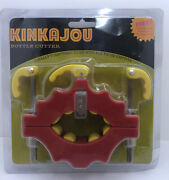 New Kinkajou Bottle Glass Cutter Kbc - Red/yellow - Fast Shipping Factory Sealed