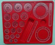 Vintage 1970and039s Denys Fisher Spirograph Spare Parts And Booklet Select From List
