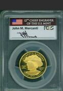 2014-w 1/2 Ounce Gold Ms70 Us Presidential Spousal Florence Harding Mercanti Fs