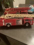 1986 Vintage Hess Truck Toy Fire Truck Bank No Box For The Truck
