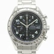 Omega Speedmaster 3513.52 Automatic Chronograph Stainless Menand039s Watch [b0328]