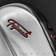 Fujimoto Golf Iron Ft-1 Mb Translucent Red Paint Fill 4 To P