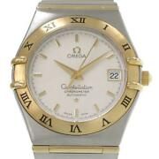 Omega Constellation Lm 1202.3 Automatic Stainless Menand039s Watch From Japan [b0328]