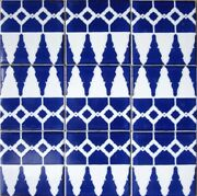 Decorative Ceramic Tiles Hand Painted Home Kitchen Bath Pool Wall Art 5 Sq. Ft.