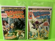 Howard The Duck 1 And 2 1st App Beverly Switzler And Pro-rata High Grade Copies
