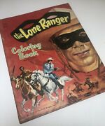 Vintage Whitman The Lone Ranger Coloring Book 1959 Complete Used 1950s