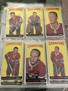 1964-65 Topps Hockey Almost Complete First Series Set