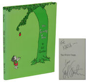 The Giving Tree Signed By Shel Silverstein Hardcover Reprint