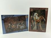 Sealed Craig Tennant Native American Jigsaw Puzzle Lot 2 1000 And 550 Piece Puzzle