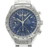 Omega Speedmaster Triple Calendar 3523.80 Automatic Stainless Menand039s Watch[b0329]