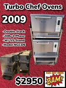 2009 Set Of 2 Turbochef Tornado Ngc High Speed Convection Microwave Oven Works