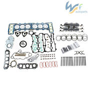 3.0t Gaskets And Piston And Bolt Kit Fit For Vw Touareg Audi A6 A8 Q7