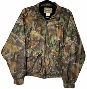 Woolrich Camouflage Hunting Jacket Mens Size Medium Outdoor Guide Collection