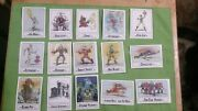 Wonder Bread Masters Of The Universe Cards Full Set 15 Cards Loose