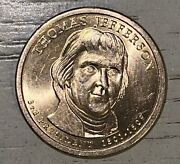 Thomas Jefferson 1 Presidential Liberty Coin 1801-1809
