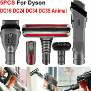 Brush Attachments Kit For Dyson V6 Accessories Fit Dc16 Dc24 Dc34 Dc35 Animal Us