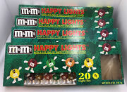 4 Vintage Mandmand039s Candy Happy Lights 20 String Set Christmas Party Rare 1993 Lot