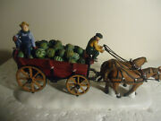 Dept 56 Bachmanand039s 110th Anniversary Horse Drawn Squash Cart