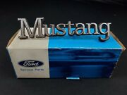 74 78 Mustang Ii Nos Oem Ford D5zz-16098-a Front Fender Name Plate