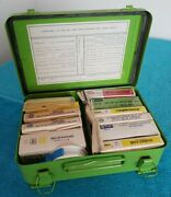 Vintage Pasific Telephone Bell Of Nevada First Aid Kit Type-c Full And Unopened