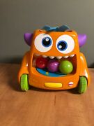 Fisher Price Zoom And Crawl Monster With All Balls
