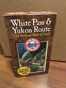 White Pass And Yukon Route Railway Of Gold Exclusive Travel Vhs Trains Railroad