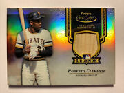 2017 Topps Gold Label Roberto Clemente Bat /50 Legends Game Used Hof Pirates