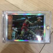 Used 1990 Topps Chrome Dennis Rodman Refractor Trading Cards With Magnet Holder