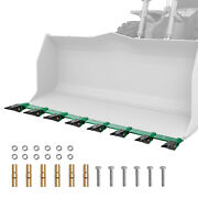 Vevor Bucket Tooth Bar 73'' Clamp-on For Tractor Loader No Drilling Required