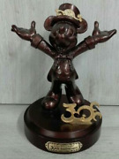 Tokyo Disney Resort 30th Anniversary Mickey Mouse Bronze Statue Limited Edition