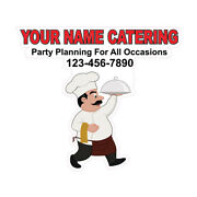 Food Truck Decals Catering Planning Occasions Concession Die-cut Vinyl Sticker