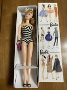 35th Anniversary Nostalgic Barbie 1959 Special Edition Reproduction In Box 850