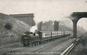 Local Train Passing Over Bushey Water Troughs London And North Western Railway Pc