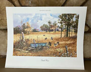 Jack C. Deloney Quail Rise Limited Ediion Print Numbered And Signed